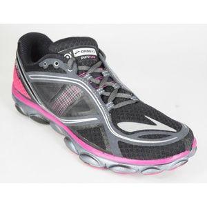 Brooks Pure Flow 3 P3 Womens Pink Black Shoes MINT